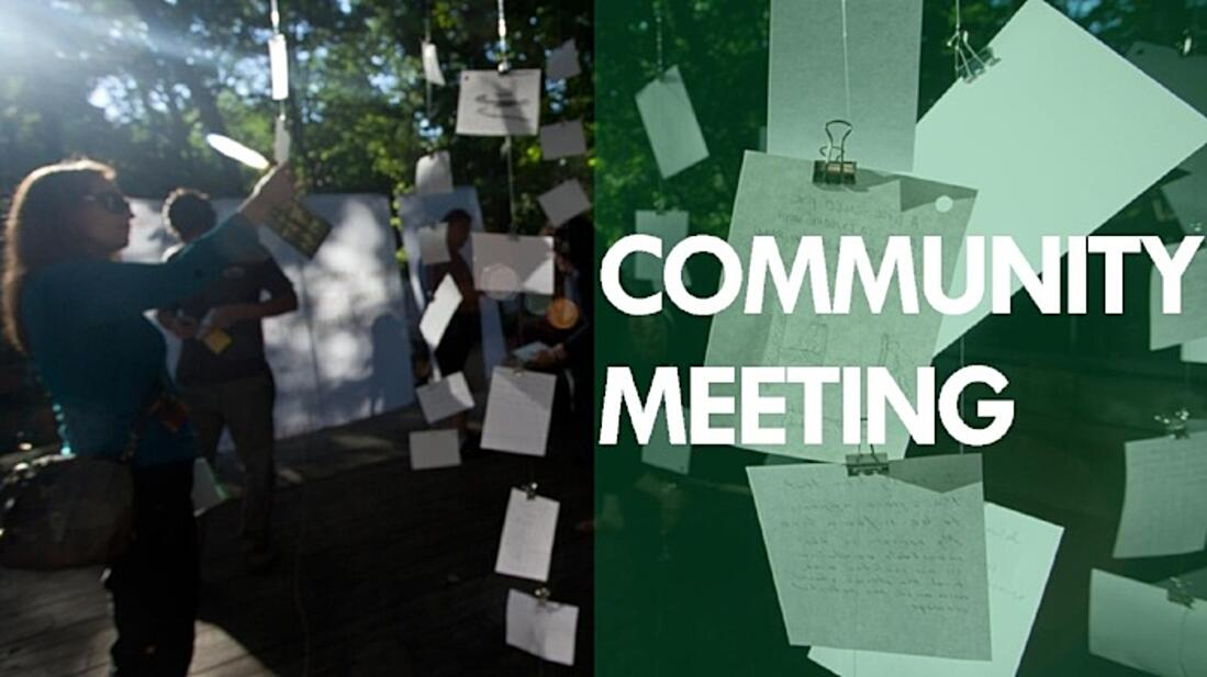 Image of a community meeting