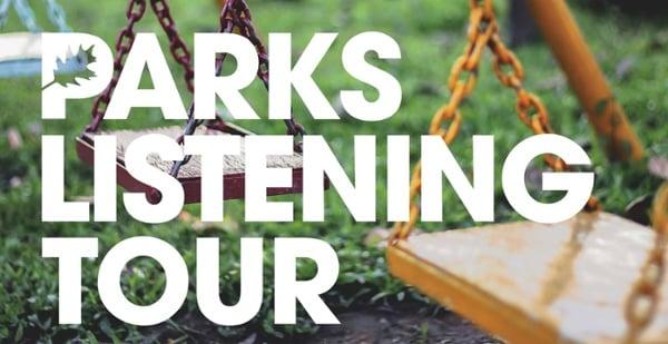 Parks Listening Tour banner