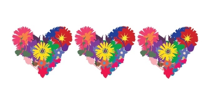 Image of three hearts