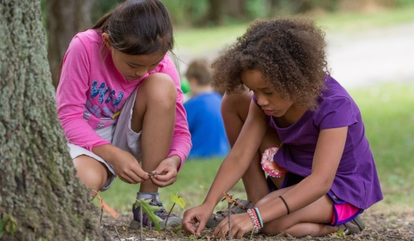 Image of kids at summer camp