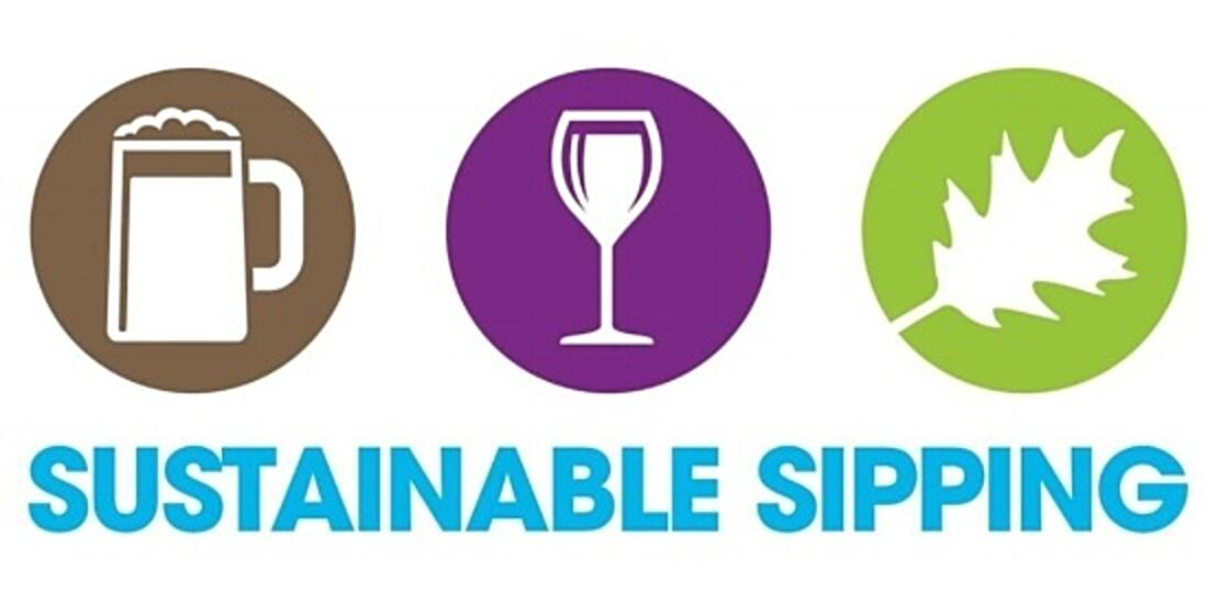 Sustainably Sipping logo