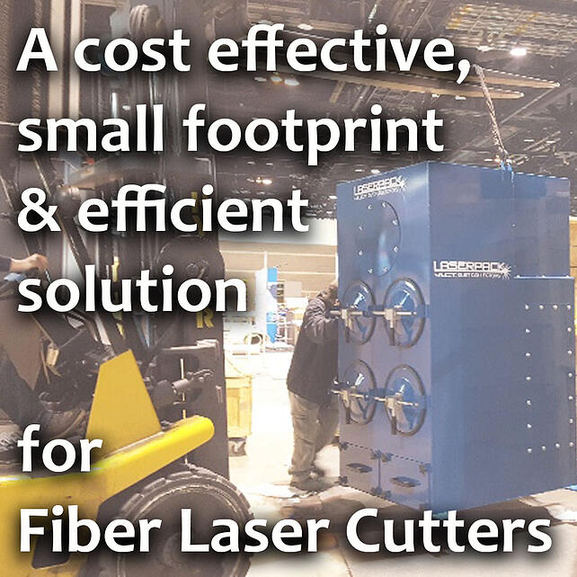 LASER CUTTING APPLICATION: A Cost Effective, Small Footprint and Efficient Solution Found!