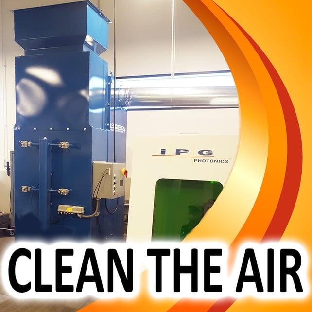 LASER CUTTING APPLICATION: Clean the Air
