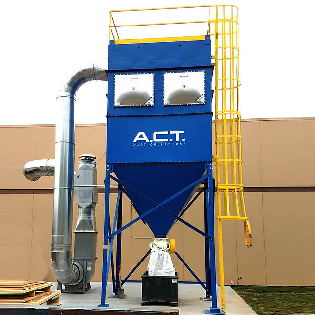 Case Studies by A C T  Dust Collectors | Industrial Applications