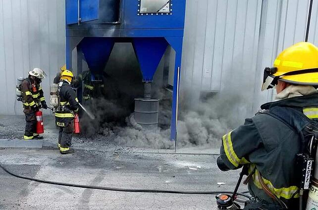 Avoiding Dust Collector Fires