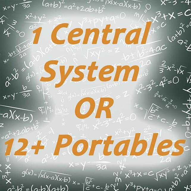 Central System vs Portable Units
