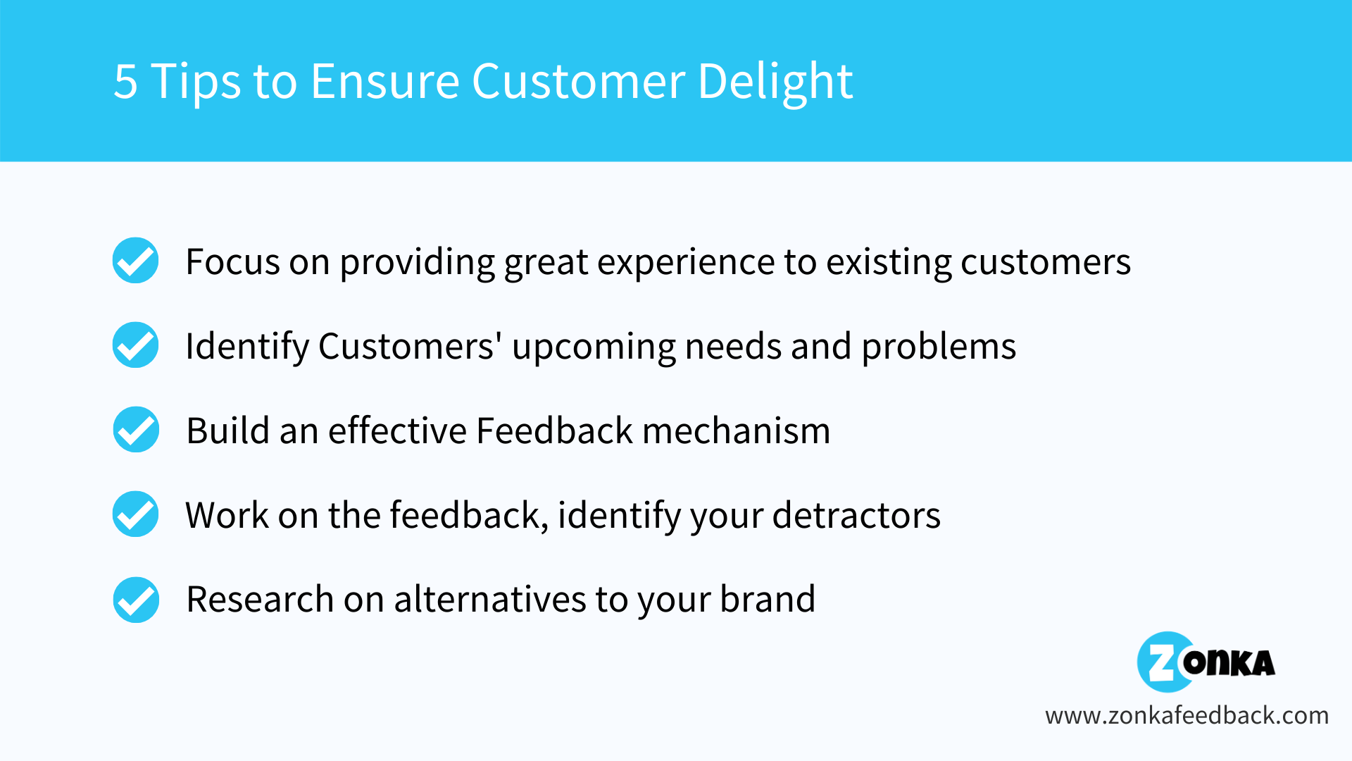 5 Tips to Ensure Customer Delight