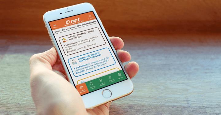Un'app per chi vuol riciclare facile con Net S.p.A.