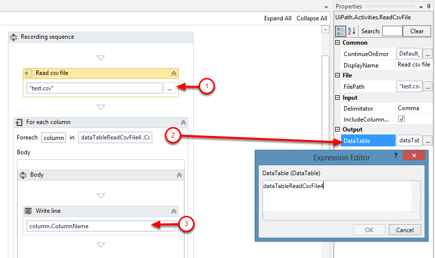 How to extract Column Headers in a CSV file