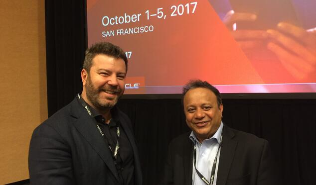 Vikas Anand VP Product Management Oracle and Daniel Dines UiPath CEO.jpg