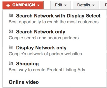 Make sure that you know the difference between search and display ads!