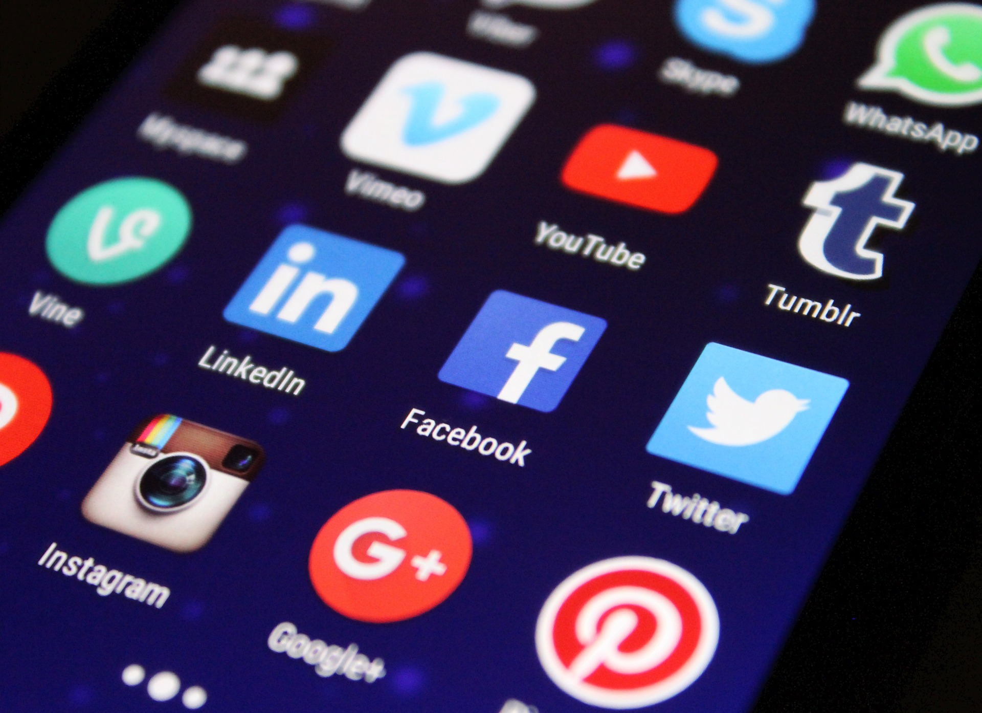 Stay connected with your customers via social media such as Facebook or Google+