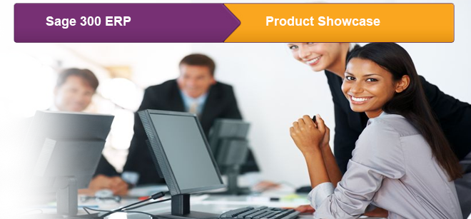 Sage 300 ERP product showcase