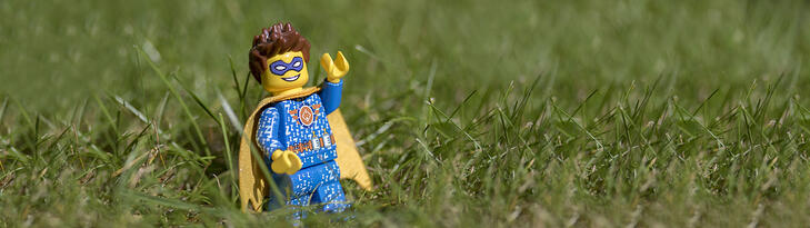 Lego Superhero Winner