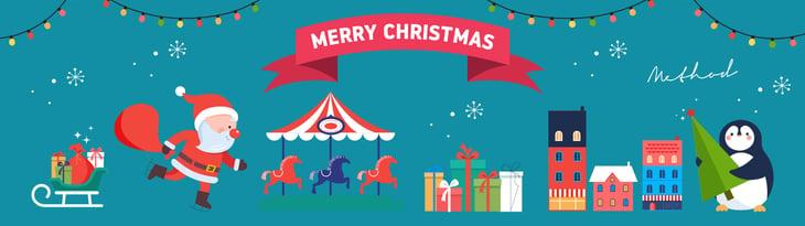 Merry Christmas from Method Design 2017