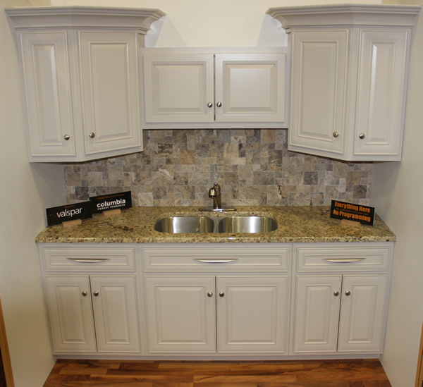 Kitchen cabinet design from IWF 2014 Thermwood booth - all made on a Cut Center
