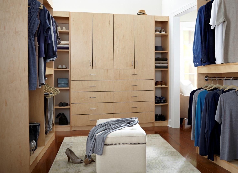 Cut Center Closet Collection