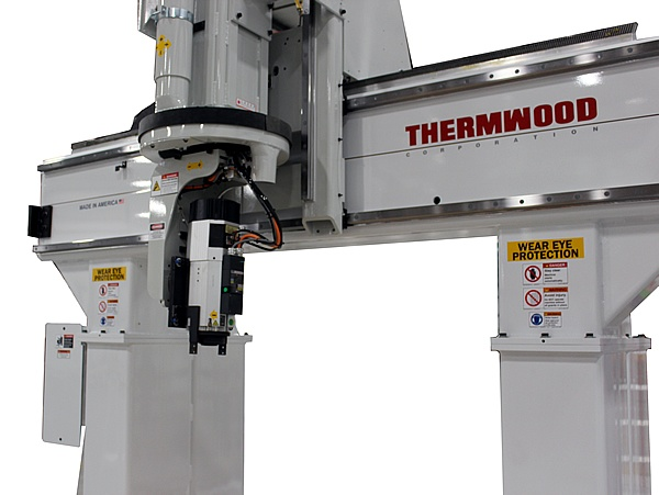 Thermwood Model 90 Gantry and Spindle