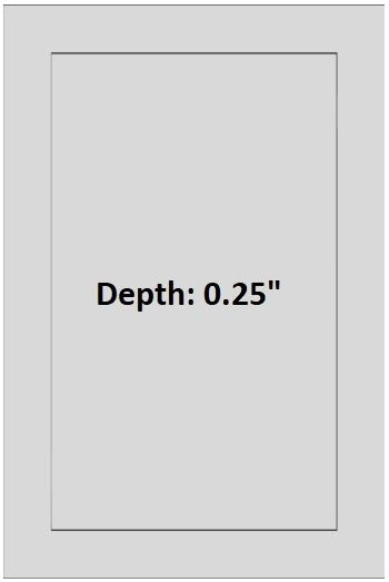 振动筛门现在有不同的深度可以从切割准备方面选择