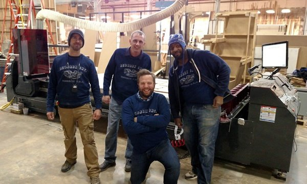 Jody Wilmes and the guys at Bednark Studio and their new Thermwood Cut Center