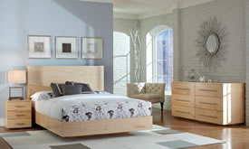 Floating Bedroom Set From the Thermwood Cut Center