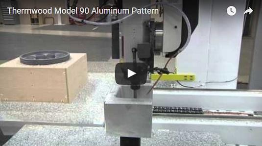 Thermwood Model 90 Machining Aluminum Pattern