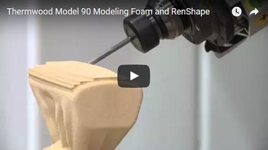 Thermwood Model 90 Machining Foam and RenShape