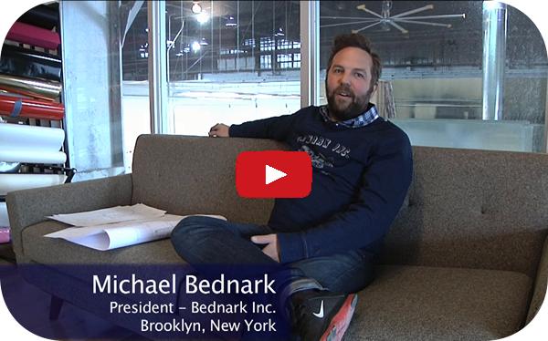 Michael Bednark  -  Bednark Inc.总统在布鲁克林,纽约州的新切割中心