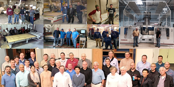 Thermwood Customer Family - Total Support and Solutions
