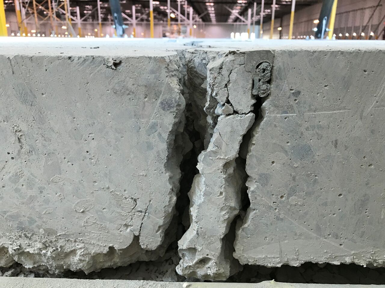 Commercial Foundation Crack