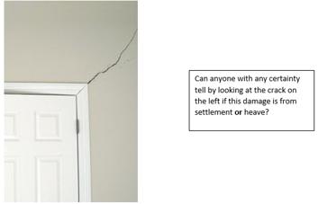 Door Frame Crack