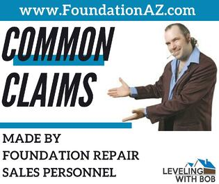 Common Claims Made by Foundation Repair Sales Personnel