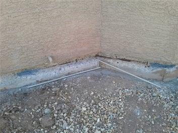 stem wall crack
