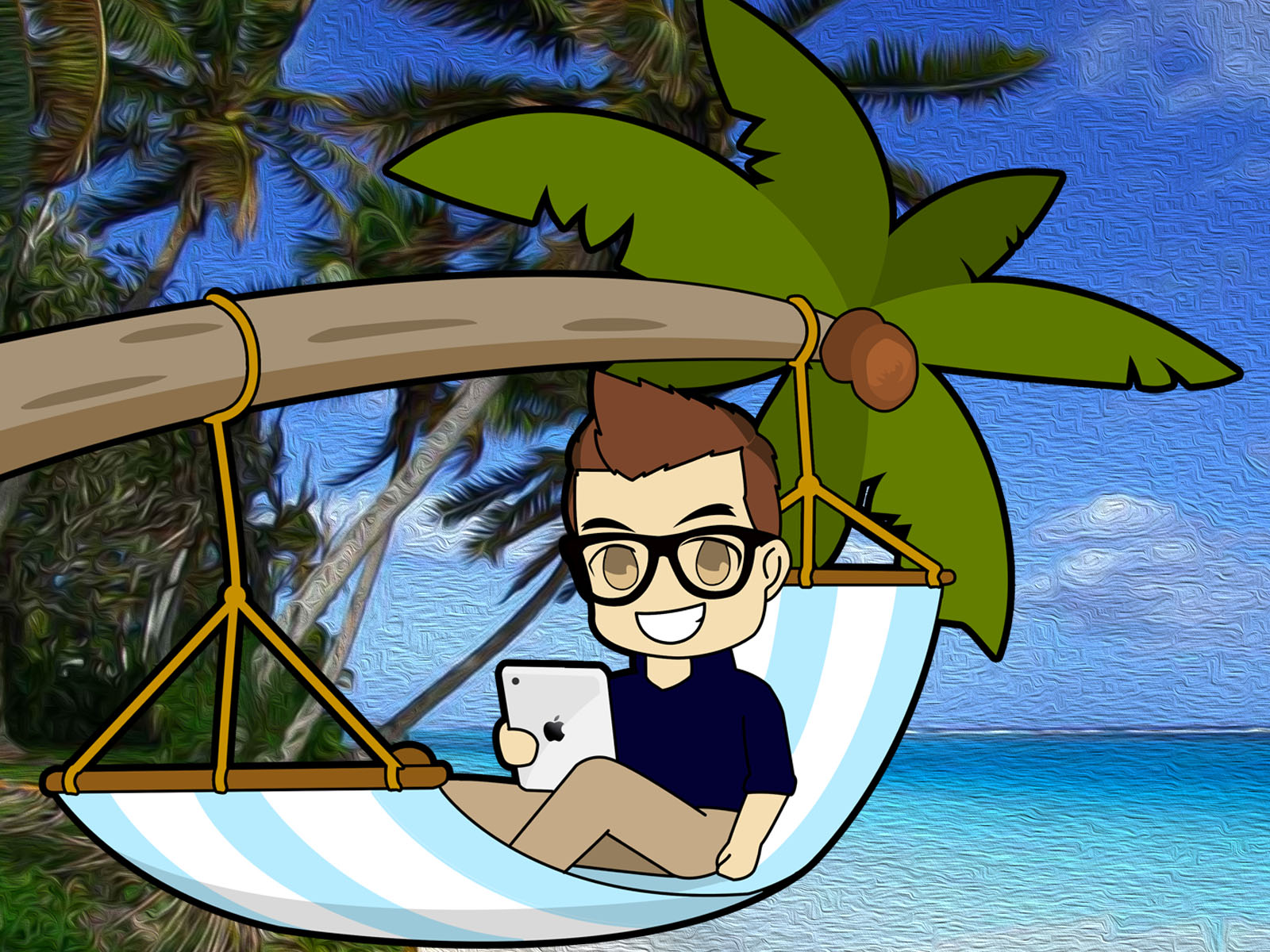 CRS_Man_Tropical_Scene