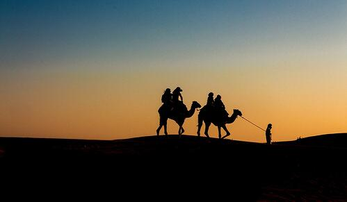 A&K Camel Trek 1200x700