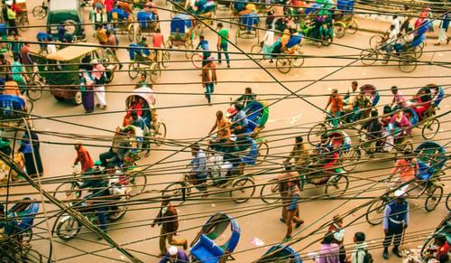 India Bangladesh Streets