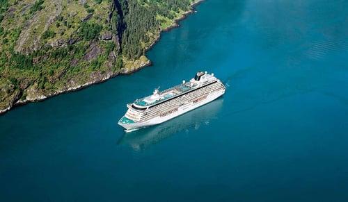 Crystal Serenity at sea