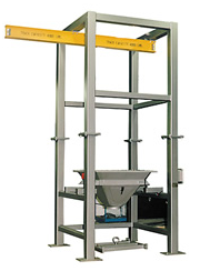 Control and Metering Flo 60 bulk bag discharger