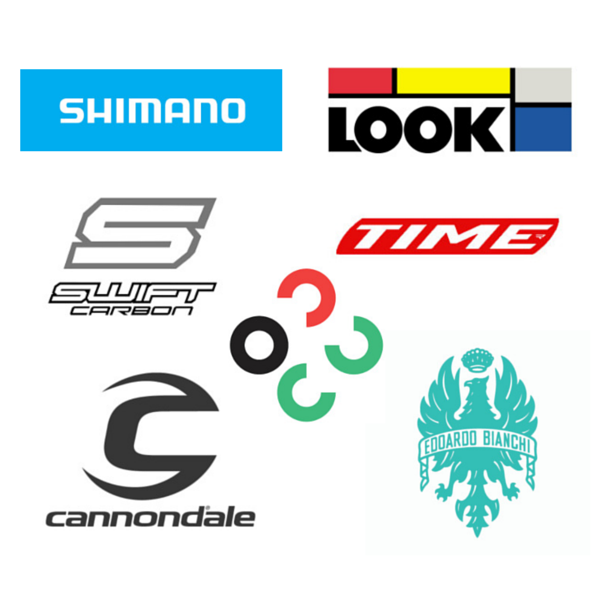 Industry Parnters Cannondale, Bianchi, Shimano, Swift Carbon, Look, Time, Lezyne.png