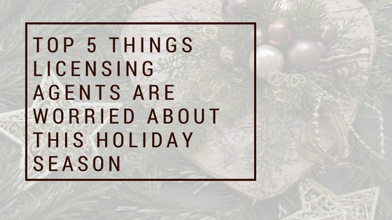 Brand Licensing - top 5 worries this holiday season