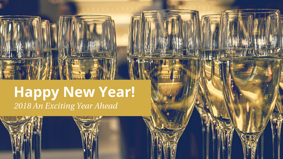 Happy New Year! 2018 An Exciting Year Ahead!