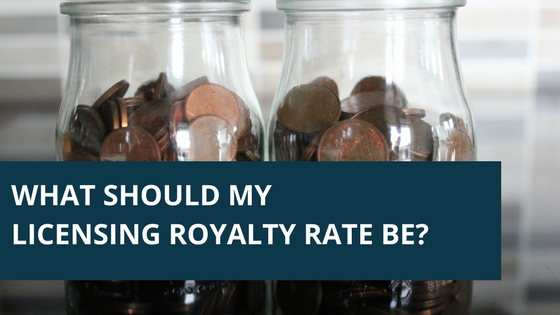 What Should My Licensing Royalty Rate Be?