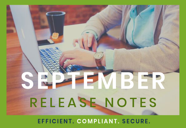 September Release Notes - Email Hero