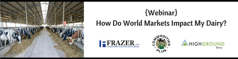 Frazer webinar for dairy farmers