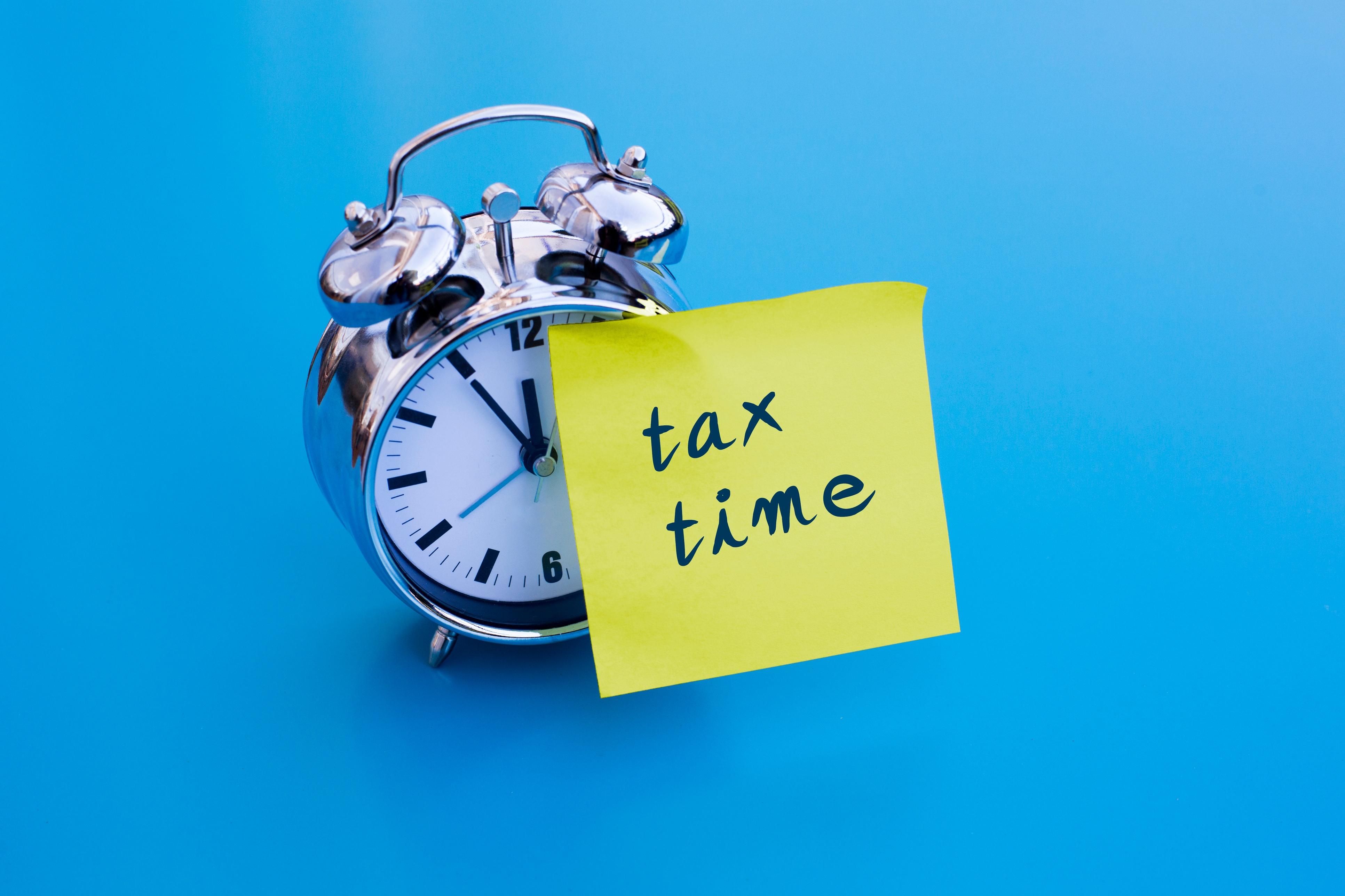 Tax deadlines