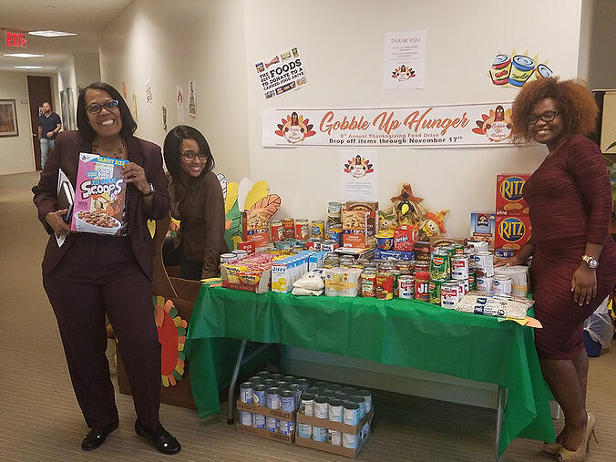 LogistiCare Donates Record Amount Of Food During Eighth Annual Food Drive