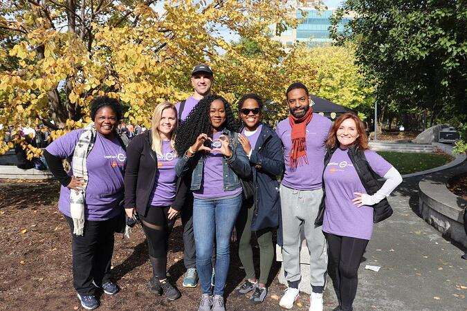 LogistiCare | Circulation team walks in the Boston Kidney Walk