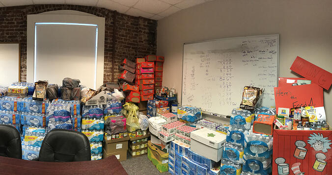 LogistiCare Shatters Records During Ninth Annual Food Drive
