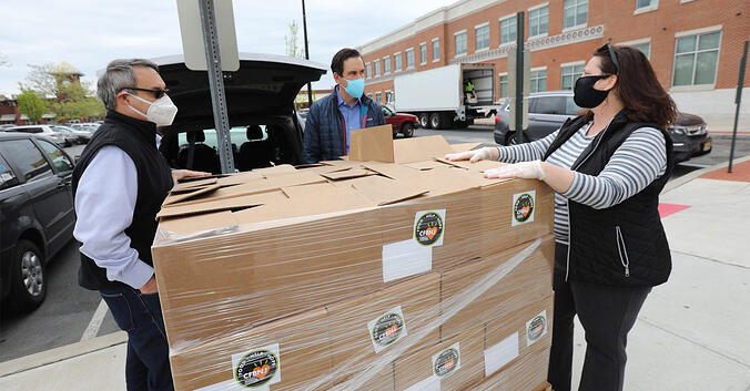 Jersey City Partners with LogistiCare to Deliver Healthy Meals to Hundreds of Residents Most in Need Amid Pandemic