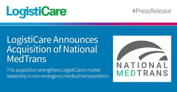 LogistiCare Announces Acquisition of National MedTrans